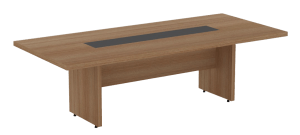 Truva Leather Meeting Table
